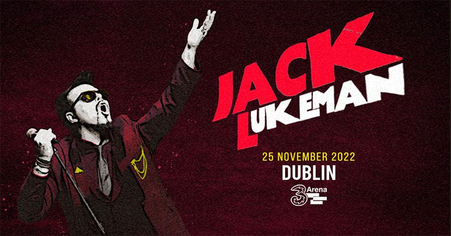 Jack Lukeman Live at 3Arena Nov 25th 20200